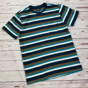 O'Neill Striped Pocket Tee Size XL